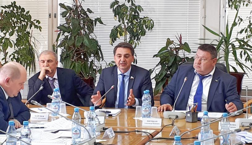 обсуждение государственной программы «Развитие Северо-Кавказского федерального округа»